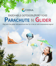 CODIA Throwing Toy for Kids - Parachute and Glider