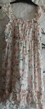 Gap age 5 years girls pink fully lined dress