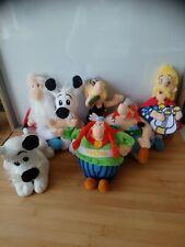 Lot de 7 peluches Asterix collection 60 ème anniversaire LIDL