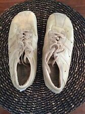 DIESEL EVEL YN Tan Suede & Leather Sport Shoes Sneakers Size 11 Lace Up
