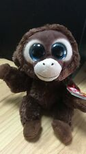 Nice Gift For Kid TY BOOS Monkey Olga animal 6 inch Plush toy doll with all tag