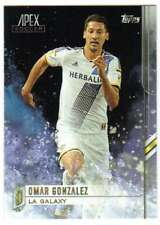 2015 Topps APEX MLS Soccer #82 Omar Gonzalez  LA Galaxy