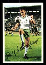 Rolf Schweighöfer Werder Bremen Bergmann Sammelbild 1968-69 Orig Sign+ A 115966
