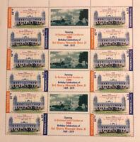 2019 Pakistan Stamp Guru Nanak Dev Ji Kartarpur Corridor Full Sheet - 12 Stamps