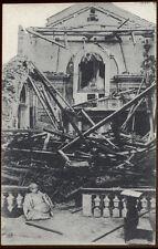 cartolina GALLIO la chiesa di..presso asiago