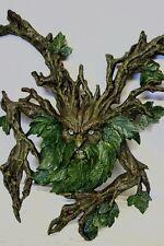 Wicca Pagan Green Man Baum Baumgeist Wandrelief Waldgeist Magie Neu