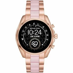 Michael Kors - Gen 5 Bradshaw Smartwatch 44mm - Rose Gold with Rose Gold/Pink