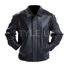 New Fashionable Faster Driver Stylish Dwayne Johnson Casual Biker Leather Jacket