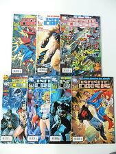 7x INFINITE CRISIS - Heft Nr: 1-7 Komplett (DC - Panini Comic)