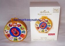 2007 HALLMARK KEEPSAKE ORNAMENT SEE 'N SAY MAGIC FISHER PRICE CHILDHOOD MEMORIES