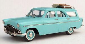 Lansdowne Models 1957 Ford Zephyr MkII Farnham Estate Turquoise LCC Special.