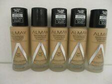 5 Almay Skin Perfecting Comfort Matte Foundation #160 Exp: 4/24+ Hn 1397