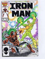 Iron Man #211 Marvel 1986