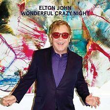 ELTON JOHN ~ WONDERFUL CRAZY NIGHT ( 2016 Release ) NEW SEALED CD ALBUM