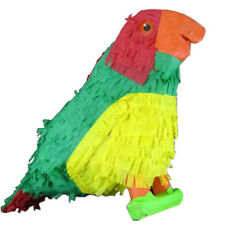GREEN PARROT PINATA BIRTHDAY OR PARTY GAME/ DECORATION