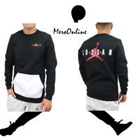 SZ SMALL 🆕🏀Nike Jordan Jumpman Air Fleece Shirt Swearshirt Pullover AA1457-010