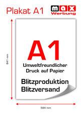 Poster / Plakat-Druck DIN A1 von Ihrem Motiv! 24h Druck