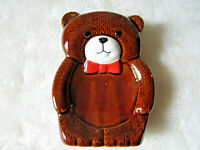 VINTAGE CERAMIC TEDDY BEAR SOAP DISH RETRO