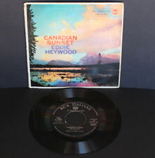 Eddie Heywood – Canadian Sunset   1958 EP Italy