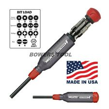 Megapro Electronic Multi Bit Screwdriver Phillips Flat Torx Square Spanner USA