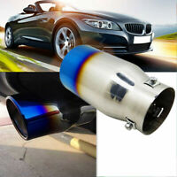 Universal Car Modified Stainless Steel Rear Exhaust Muffler Pipe Tip Tail Throat