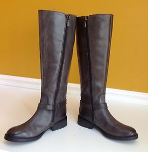 Vince Camuto Farren Davys Gray Tie Dye Heavy Riding Boots Size 5.5M