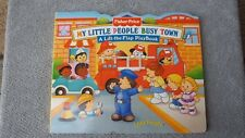 """My Little People  Busy Town"" Flap Book  (2000)"