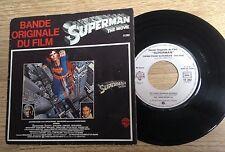 45 tours BOF Superman John Williams Christopher Reeve 1979 VG++