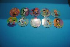 392 pogs pog caps milkcaps flippo : lot de 10 briliant frogs snoopy
