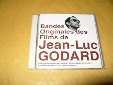 Bandes Originales Des Films De Jean Luc Godard cd 1994 Japan cd Ex Condition