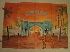 Vintage  CAMEL  rare TEXTILE POSTER FLAG     US marlboro lucky strike cigarette