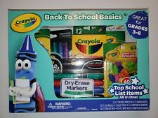 Crayola Back To School Basics Kit pencils colored pencils highlighters erasers
