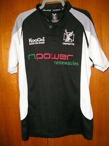 Ospreys Rugby Union Football Jersey Shirt Kooga size M 38/40