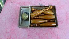 jeu de quilles de table vintage Tisch Kegelspiel Germany Nurnberg