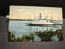Ferry COLONIAL, SAYBROOK POINT, CT Naval Cover unused postcard