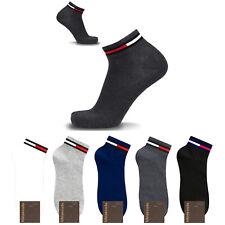 KIKIYA Men Ankle Socks Short Fashion Sneakers Low Cut Mondrian Cotton Lot Crew