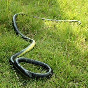 Fake Snake Simulation Scary Rubber Gag Lifelike Prank Joke Gift Toy O0N4