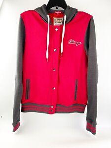 NWOT Chicago Bulls Mitchell & Ness Hardwood Classics Women's Fleece Jacket M