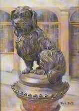 Greyfriars Bobby Edinburgh Scotland Skye Terrier Dog United Kingdom Art Postcard