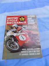 motorcycle mechanics(june72)Honda 500-4/354 Broad Yamaha/BSA Forks/square four