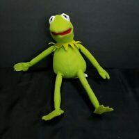 "Disney Kermit the Frog 10"" Muppets Green Stuffed Animal Jim Henson Just Play"