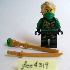 LEGO Ninjago LLOYD MINIFIGURE Skybound Green Ninja from Green NRG Dragon 70593