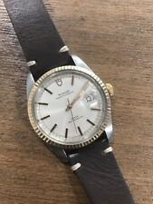 $2600 AUTHENTIC TUDOR BY ROLEX JUMBO 38mm OYSTER DATE VINTAGE AUTOMATIC WATCH