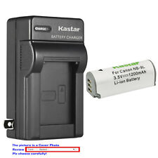 Kastar Battery Wall Charger for Canon NB-9L CB-2LB & Canon Powershot ELPH 510 HS