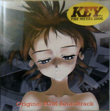 Key the Metal Idol Original Soundtrack CD OST Viz OOP Official Sealed New Mint