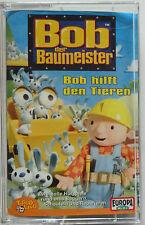 Bob der Baumeister MC Bob hilft den Tieren Cassette Audio Kassette