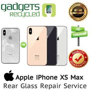 iPhone XS Max Rear Glass Replacement Repair Service - Same Day Repair & Return