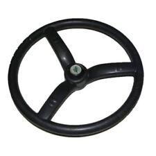 Steering Wheel 3 Spoke Black Rubber Made for Massey Ferguson Tractors GEC