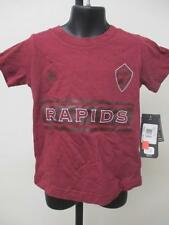 New MLS Colorado Rapids Kids Size 4T Adidas Red Shirt