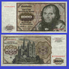 Germany 1000 mark marks 1960 UNC - Reproduction